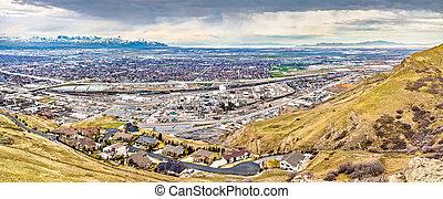 Oil refinery in Salt Lake City, Utah