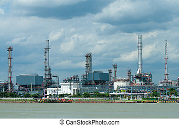 oil refinery  - oil refinery