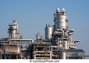 Oil refinery - petrochemical industrial plant