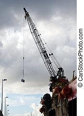 oil rig crane
