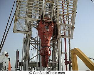 oil rig in Qatar