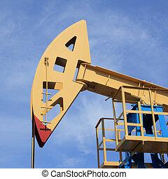 Oil rocking chair