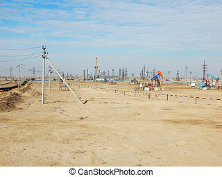 Oil rocking in the field.