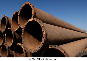 Oil - Rusty tubes