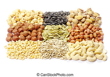 oil seeds and nuts