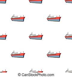 Oil ship. Oil single icon in cartoon style vector symbol stock illustration web.