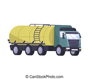 Oil Tank Truck Composition