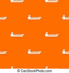 Oil tanker ship pattern seamless