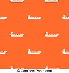 Oil tanker ship pattern seamless - Oil tanker ship pattern...