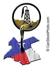 oil., texas