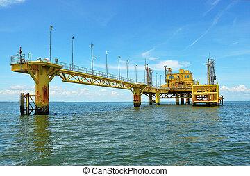 Oil transfer platforms
