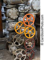 Oil valve in Shop