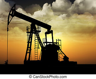 oil well - oil pump well