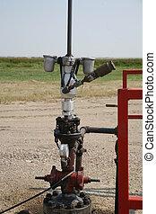 Conventional oil wellhead