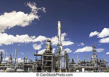 oild, raffinerie, détails