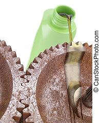 Oiling Rusty Gears
