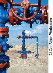 Oilwell. gas and oil concepte