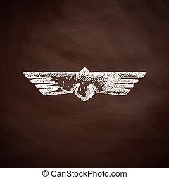 oiseau, icône