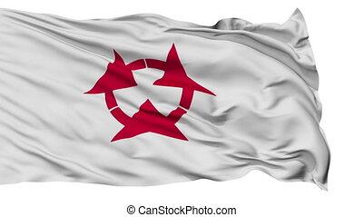 Oita Prefecture Isolated Flag - Flag of Oita Prefecture,...