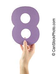 oito, Número