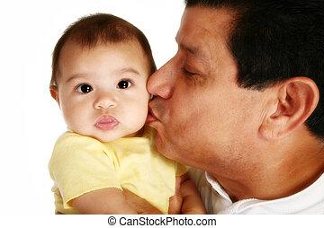 ojciec, córka