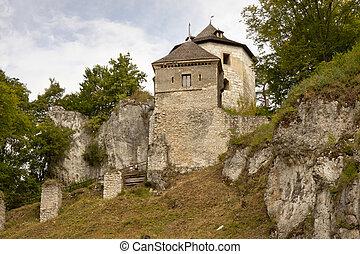 Ojcow castle.