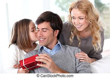 ojcowy dzień, rodzinne celebrowanie
