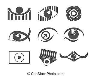 ojo, diseño
