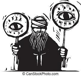ojo, señales