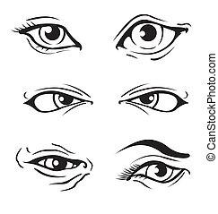 ojos, vario