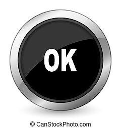 ok black icon