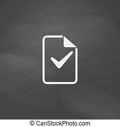 Ok glyph computer symbol