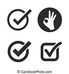 Ok icons set