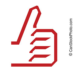 ok thumb up icon