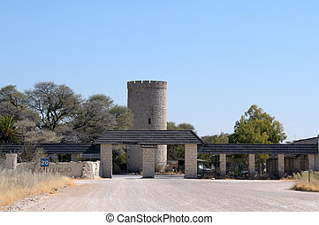 Okaukeujo Rest Camp, Etosha National Park, Namibia