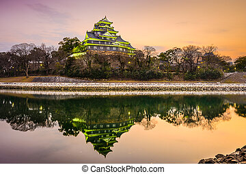 Okayama Castle in Japan - Okayama, Japan at Okayama Castle ...