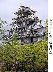 Okayama castle, Japan - Okayama, Japan - city in the region ...