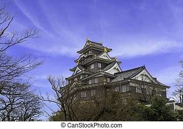 Okayama Castle Landmark. - Okayama Castle is landmark ...
