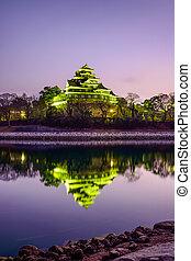 Okayama Castle - Okayama, Japan at Okayama Castle on the ...