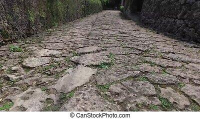 Okinawa cobblestone - Okinawa kinjyocho cobblestone