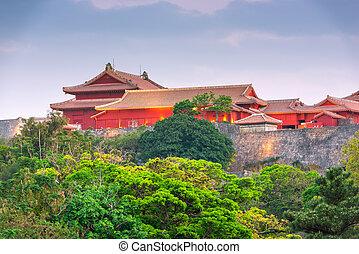 Okinawa, Japan at Shuri Castle