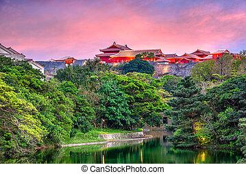 Okinawa, Japan Castle