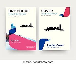 oklahoma brochure flyer design template