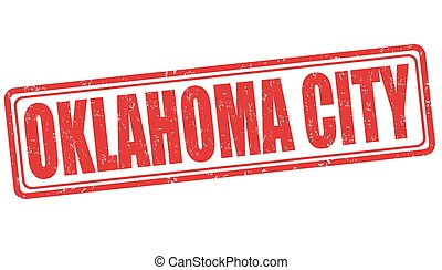 Oklahoma City stamp