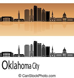 Oklahoma City V2 skyline