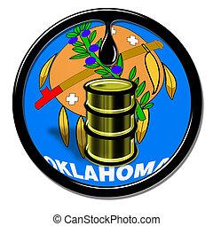 Oklahoma Oil. - Oklahoma oil production.
