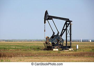 Oklahoma Oilfield Pumpjack