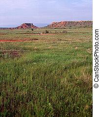 Oklahoma Panhandle - Mesa and plains in Oklahoma