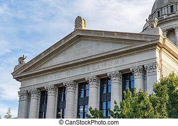 Oklahoma State Capital Building