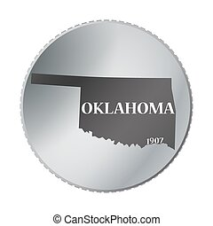 Oklahoma State Coin